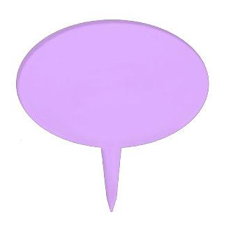 Código e0b0ff del maleficio de la violeta de color figura para tarta
