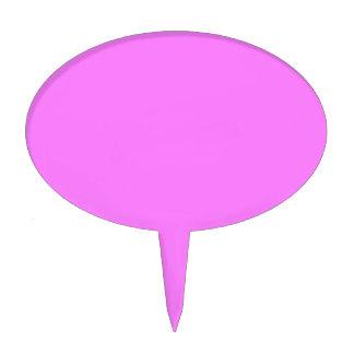Código FB7EFD del maleficio del rosa impactante Decoración Para Tarta