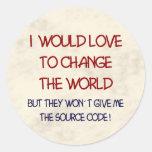 código fuente pegatina