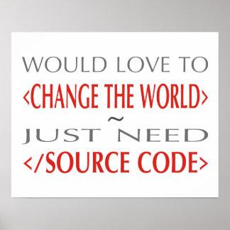 Código fuente póster