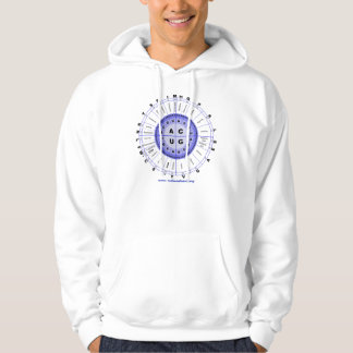 Código genético suéter con capucha