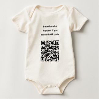 Código inútil de QR: Me pregunto… Mamelucos De Bebé