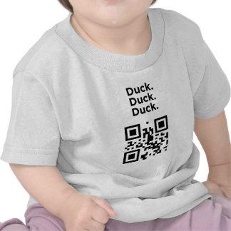 Código inútil de QR: Pato Camisetas