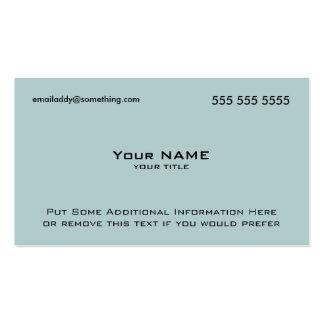 Código moderno del azul QR Tarjeta Personal