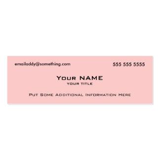 Código moderno del rosa QR Plantilla De Tarjeta De Negocio