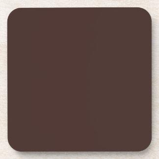 Código oscuro 3D241F del maleficio del chocolate Posavasos De Bebidas