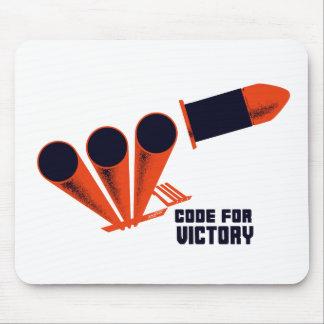 Código para la victoria -- WW2 Tapetes De Raton