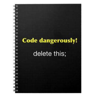 Código peligroso notebook
