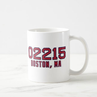 Código postal de Boston Taza De Café