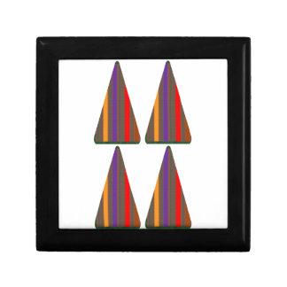CÓDIGO secreto Arte del triángulo de la PIRÁMIDE Cajas De Joyas