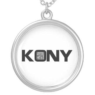 Código video José Kony de Kony 2012 QR Colgante Redondo
