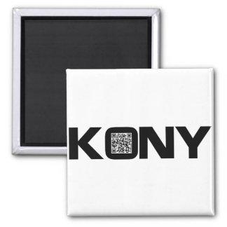 Código video José Kony de Kony 2012 QR Imán Para Frigorifico
