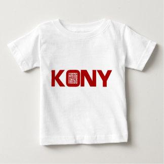 Código video José Kony del rojo QR de Kony 2012 Remera