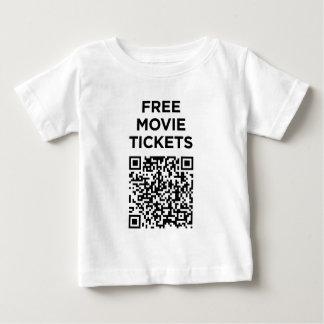 Códigos inútiles de QR: Boletos de la película Playera De Bebé