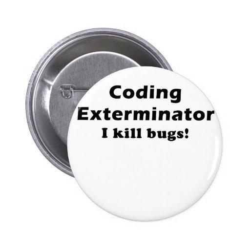 Coding Exterminator I Kill Bugs Button
