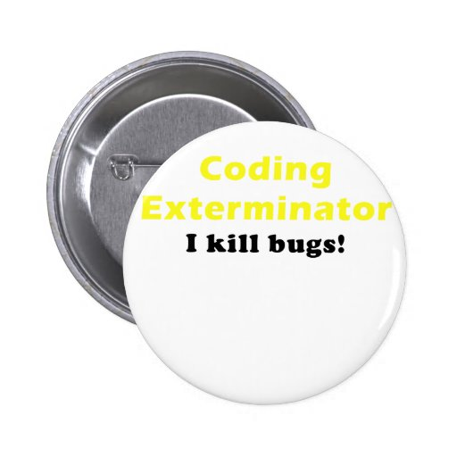 Coding Exterminator I Kill Bugs Buttons