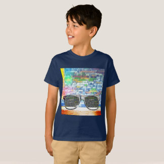 Coding graphic boys t shirt