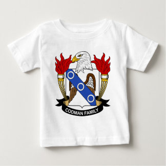 Codman Family Crest Baby T-Shirt