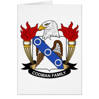 Codman Family Crest Card