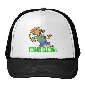 Codo de tenis gorras