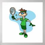 Codo de tenis posters