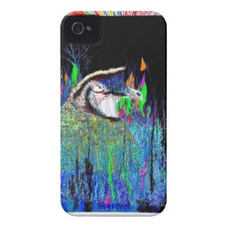 Codornices del blanco de Bob Case-Mate iPhone 4 Cárcasa