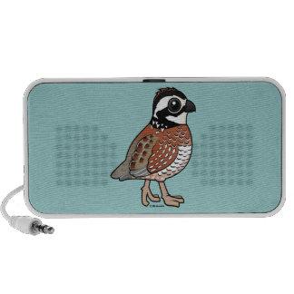 Codorniz septentrional iPod altavoz