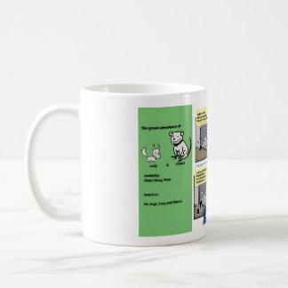 cody & chance Armand le cat comic mug