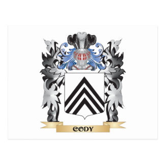 Cody Coat of Arms - Family Crest Postcard