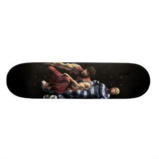 Cody contra individuo patineta personalizada