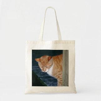 Cody el bolso curioso del gato bolsas de mano