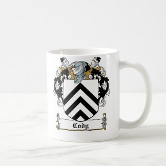 Cody Family Crest Classic White Coffee Mug