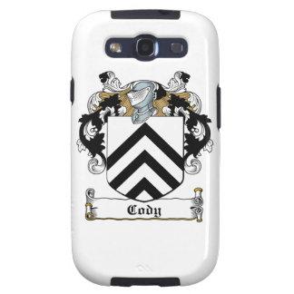 Cody Family Crest Samsung Galaxy SIII Cases