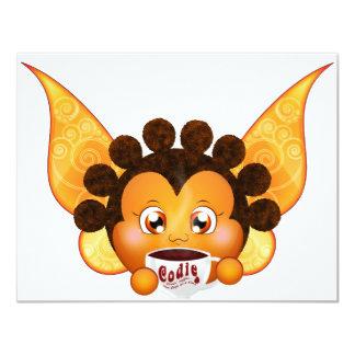 Cody Koffy Puffy Fairy Personalized Invites