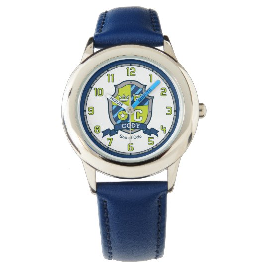 Cody letter C name meaning crest bear blue green Watch