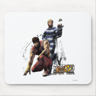 Cody Vs. Guy Mouse Pad