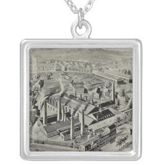 Coe Brass Mfg Co Silver Plated Necklace