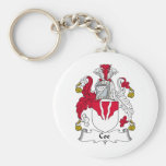 Coe Family Crest Key Chains