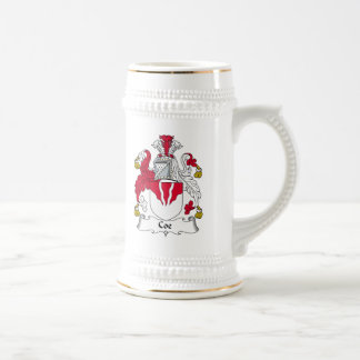 Coe Family Crest 18 Oz Beer Stein