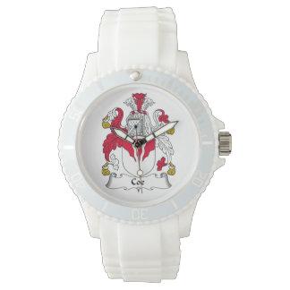 Coe Family Crest Wrist Watch