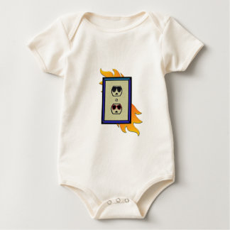 coed electric outlet baby bodysuit