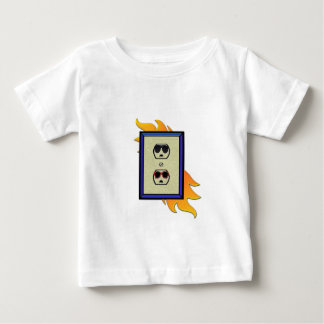 coed electric outlet baby T-Shirt