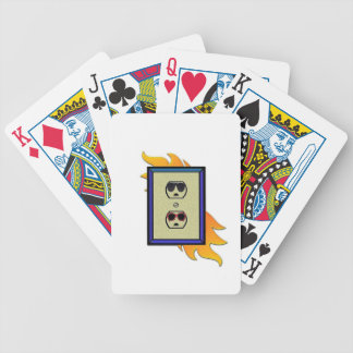 coed electric outlet card decks