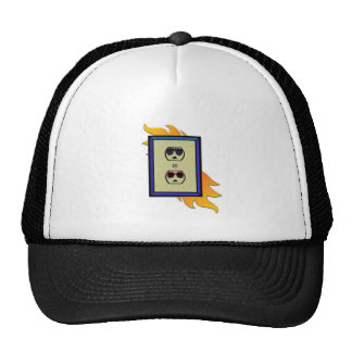coed electric outlet trucker hat