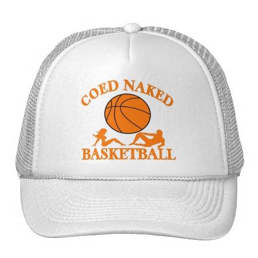 Coed Naked Basketball Trucker Hat