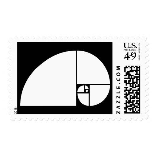 Coeficiente de oro, espiral de Fibonacci Envio