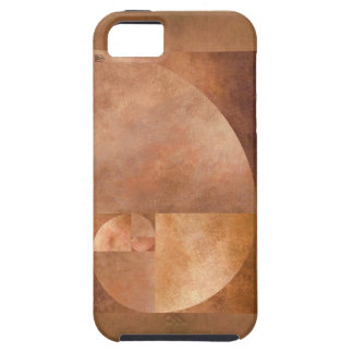 Coeficiente de oro, espiral de Fibonacci iPhone 5 Carcasas