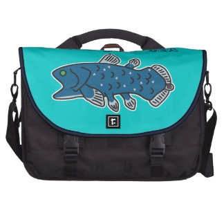 "Coelacanth Commuter Bag ""WELCOME TO THE DEEP SEA"""