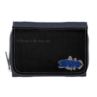 Coelacanth Denim Wallet Black