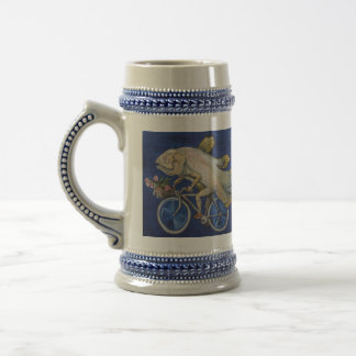 Coelacanth, DRINK LIKE A FISHON A BICYCLE 18 Oz Beer Stein